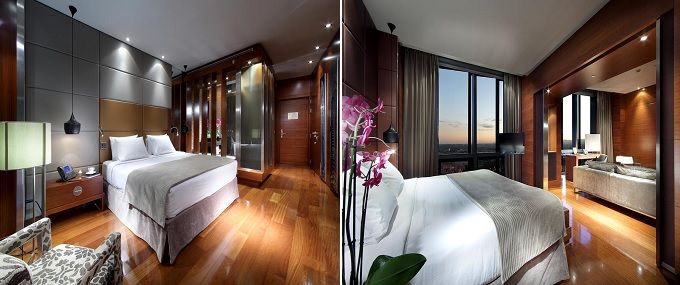Habitaciones - Eurostars Madrid Tower